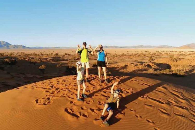 """""""Reportages découverte"""" aux côtés de français dans le désert de Namibie, ce 21 juillet sur TF1"""