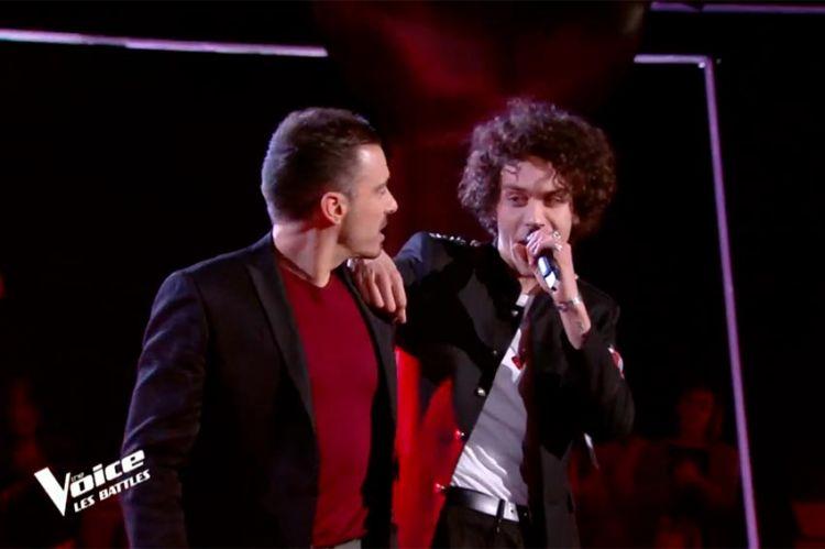 """Replay """"The Voice"""" : Michael Bucquet et Kaël chantent « Comme d'habitude » de Claude François (vidéo)"""