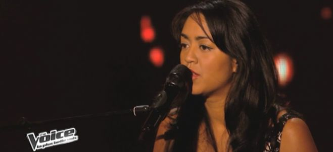 "Replay ""The Voice"" : regardez Alexia Rabé qui interprète « Sorry Seems To Be » d'Elton John (vidéo)"