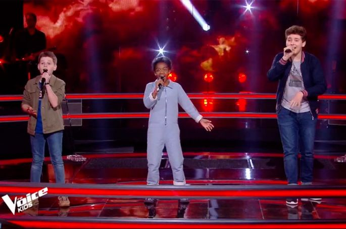 """Replay """"The Voice Kids"""" : Timeo, Diodick & Maxence chantent « In My Blood » de Shawn Mendes (vidéo)"""