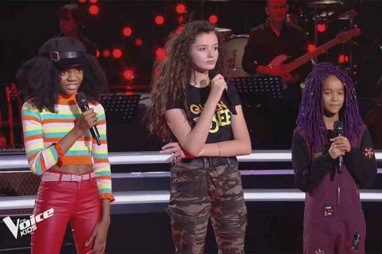 """Replay """"The Voice Kids"""" : Lisa, Nour & Talima chantent « Royals » de Lorde (vidéo)"""