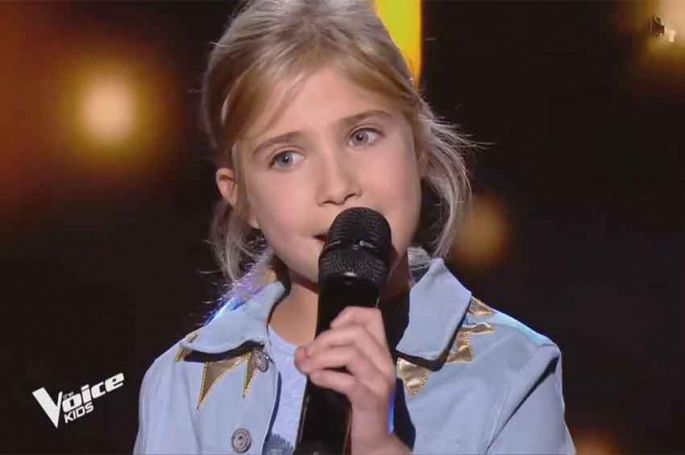 "Replay ""The Voice Kids"" : Julia chante « Don't rain on my parade » de Barbra Streisand (vidéo)"