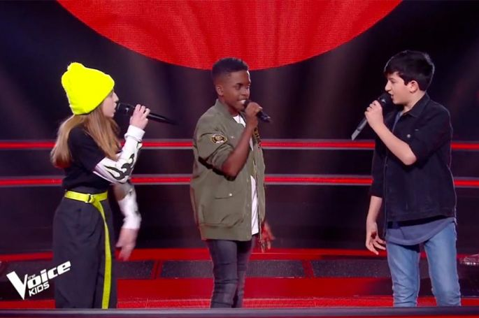 "Replay ""The Voice Kids"" : Jody, Arieh & Lou chantent « Clown » de Soprano (vidéo)"