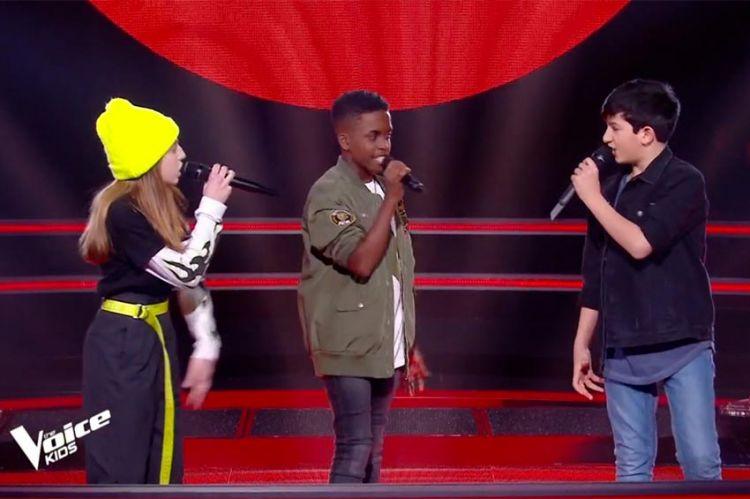 "Replay ""The Voice Kids"" : Jody, Arieh & Lou chantent « Clown » de Soprano (vidéo)"