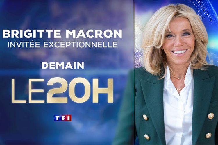 Brigitte Macron invitée du JT de 20H de TF1 dimanche 17 janvier