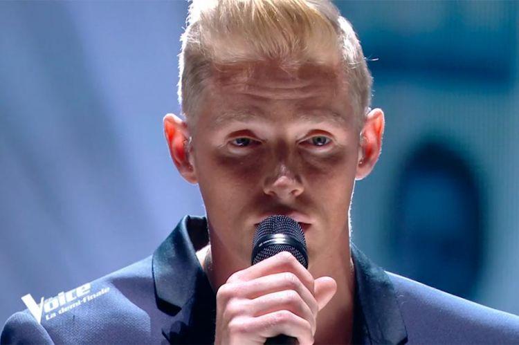 """Replay """"The Voice"""" : Terence chante « Si seulement je pouvais lui manquer » de Calogéro (vidéo)"""