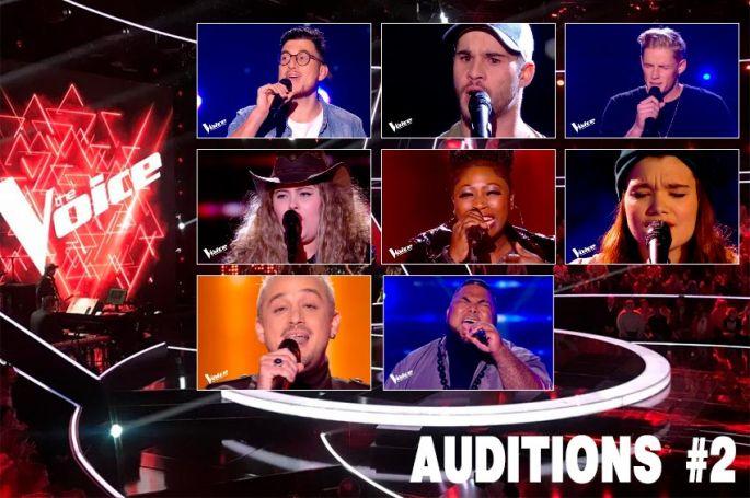 """Replay """"The Voice"""" samedi 25 janvier : voici les 8 talents sélectionnés par les coachs (vidéo)"""