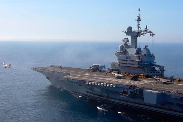C8 en immersion à bord du porte-avions Charles de Gaulle, à découvrir mardi 25 août
