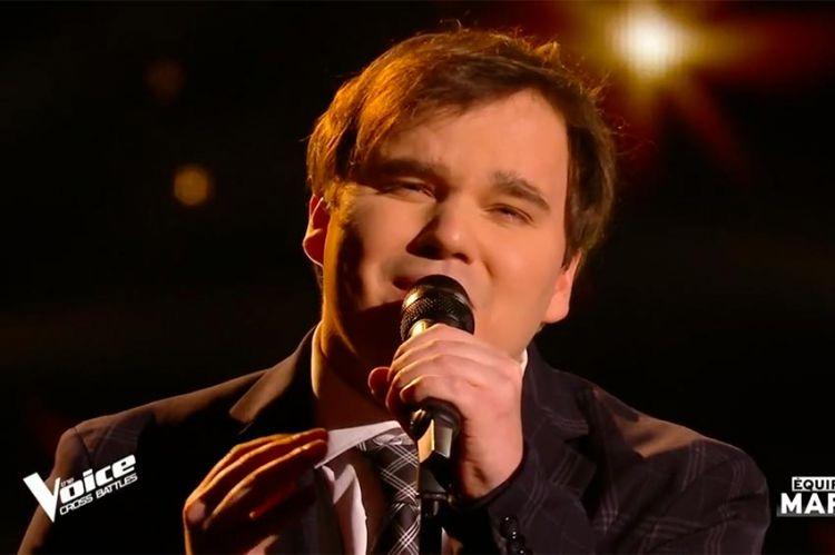 """Replay """"The Voice"""" : Jim Bauer chante « Aline » de Christophe (vidéo)"""