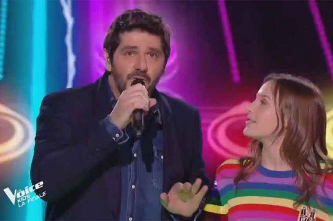 "Revoir ""The Voice Kids"" : Patrick Fiori & Carla « Pour oublier » de Kendji Girac en finale (replay vidéo)"