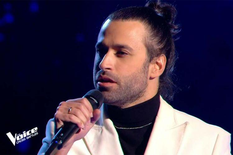 """Replay """"The Voice"""" : Anthony Touma chante « Si seulement je pouvais lui manquer » de Calogero (vidéo)"""