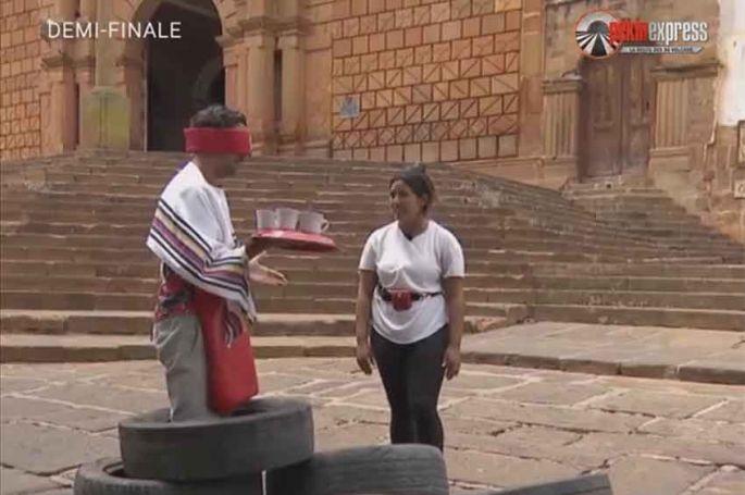 """""""Pékin Express"""" : grosse embrouille entre Lydia & Mounir en demi-finale, jeudi sur M6 (vidéo)"""