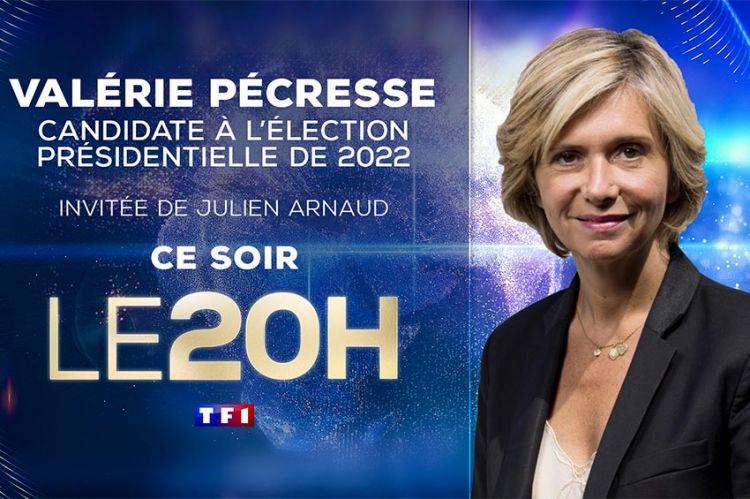 Valérie Pécresse invitée du JT de 20H de TF1 ce jeudi 22 juillet