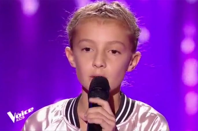 """Replay """"The Voice Kids"""" : Elodie chante « Listen » de Beyoncé (vidéo)"""
