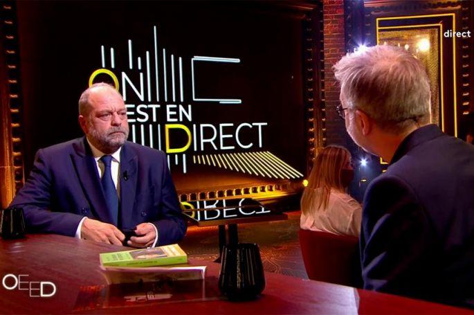 """Replay """"On est en direct"""" : Eric Dupond-Moretti, le face à face avec Laurent Ruquier (vidéo)"""