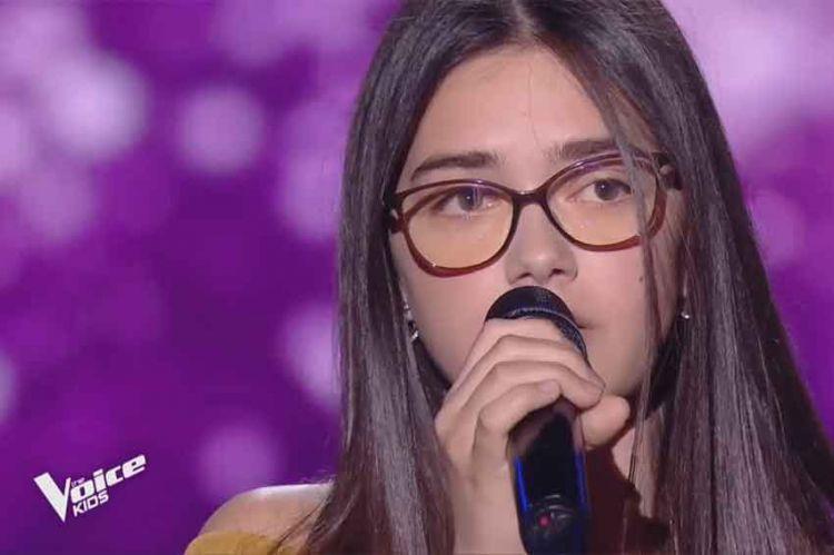 """Replay """"The Voice Kids"""" : Marie chante « Si t'étais là » de Louane (vidéo)"""