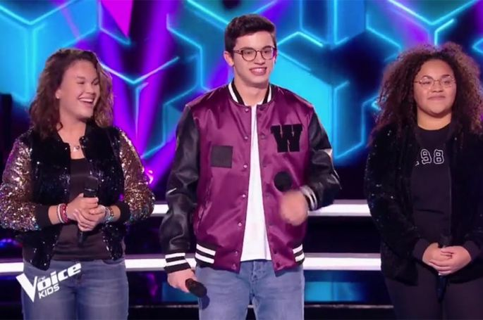 "Replay ""The Voice Kids"" : battle Madison, Morgan & Talisa sur « Feel » de Calvin Harris... (vidéo)"