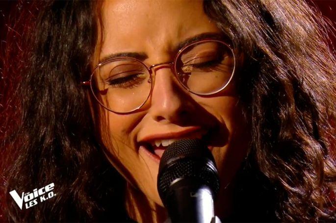"""Replay """"The Voice"""" : Marghe chante « Nature boy » de Nat King Cole (vidéo)"""