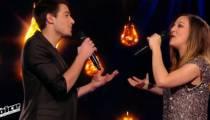 """Replay """"The Voice"""" : La Battle Camille Lellouche / Jérémy sur « Le petit bal perdu » de Bourvil (vidéo)"""