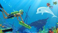 """1ères images de """"Oum, le dauphin blanc"""" à partir du 30 août dans TFOU sur TF1 (vidéo)"""