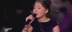"""Replay """"The Voice Kids"""" : Leelou chante « Mon ange » de Nolwenn Leroy (vidéo)"""