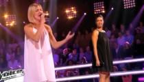 """Replay """"The Voice"""" : la battle entre Alexia et Julie sur « Tout » de Lara Fabian (vidéo)"""
