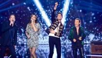 """""""The Voice"""" : Zazie, Garou, Mika et Florent Pagny ouvrent la saison 5 sur du Coldplay (vidéo)"""