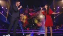"Replay ""The Voice"" : duel Lorrah Cortesi / Gabriel « Don't give up » (vidéo)"