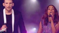 """Replay """"The Voice"""" : Casanova & Amel Bent chantent « Que je t'aime » en finale (vidéo)"""