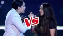 """Replay """"The Voice"""" : La Battle Anahy / Akasha « Puisque tu pars » de Jean-Jacques Goldman (vidéo)"""