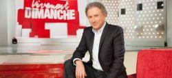 """Michel Drucker reçois François Hollande dans """"Vivement dimanche prochain"""" sur France 2"""