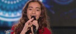 """Replay """"The Voice Kids"""" : Betyssam chante « Le café des délices » de Patrick Bruel (vidéo)"""