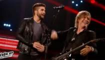 """Replay """"The Voice"""" : Jean-Louis Aubert & Kendji chantent « Temps à nouveau » en finale (vidéo)"""