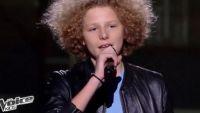 """Replay """"The Voice Kids"""" : Henri reprend en direct « Ca fait mal » de Christophe Maé en finale (vidéo)"""