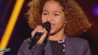 """Replay """"The Voice Kids"""" : Dylan chante « Eblouie par la nuit » de Zaz (vidéo)"""
