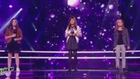 "Replay ""The Voice Kids"" : battle Angelina / Lara / Eléa sur « Lost on you » de LP (vidéo)"