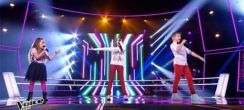 "Replay ""The Voice Kids"" : battle Laure, Manuela, Steven « Papaoutai » de Stromae (vidéo)"