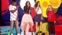 "Replay ""The Voice Kids"" : Jenifer, Lisandro, Justine, Lisandru chantent « Shake it off » (vidéo)"