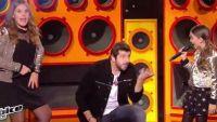 "Replay ""The Voice Kids"" : Patrick Fiori, Angelina & Cassidy « Je joue de la musique » de Calogero (vidéo)"