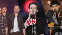 """Replay """"The Voice"""" : l'épreuve ultime de Arcadian, Louis et Sweem (vidéo)"""