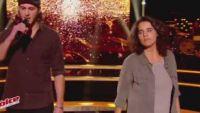 """Replay """"The Voice"""" : Battle Marianne Aya Omac / Romain « Un homme debout » de Claudio Capéo (vidéo)"""