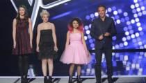 """Replay """"The Voice"""" : revoir l'épreuve ultime de Dalia, Elvya et Trudy (vidéo)"""