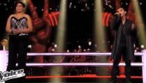 """Replay """"The Voice"""" : la battle entre Fabienne & Akram sur Life on Mars » de David Bowie (vidéo)"""