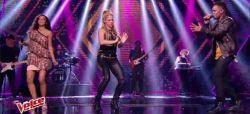 """Replay """"The Voice"""" : Lucie, Shakira & Black M « Comme moi » en finale (vidéo)"""