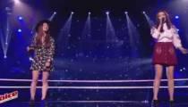 """Replay """"The Voice"""" : Battle Claire Gautier / Lou Mai « Lost On You » de LP (vidéo)"""
