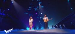 """Replay """"The Voice"""" : Maëlle & Vianney chantent « Je m'en vais » en finale (vidéo)"""