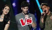 """Replay """"The Voice"""" : l'épreuve ultime de Lena Woods, Antoine et MB14 (vidéo)"""