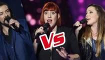 """Replay """"The Voice"""" : l'épreuve ultime de Julie Moralles, Clément Verzi et Jessanna (vidéo)"""