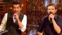 """Replay """"The Voice"""" : Sol & Clément Verzi interprètent « Vieille Canaille » (vidéo)"""