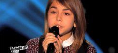 """Replay """"The Voice Kids"""" : Carla interprète « Eblouie par la nuit » de Zaz (vidéo)"""